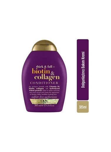 Organix Organix Biotin and Collagen Conditioner 385ml Renksiz